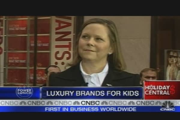 Kids' Luxury Retail