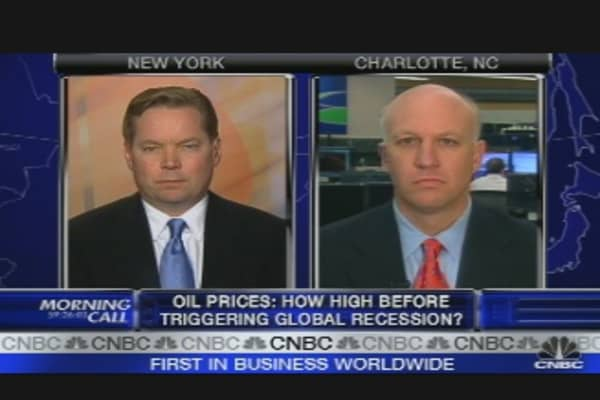 $90 Oil Causing a Recession?