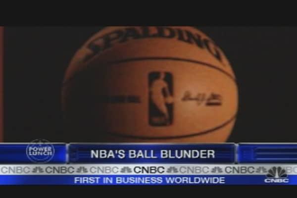 NBA's Ball Blunder