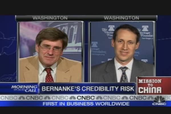 Bernanke's Credibility
