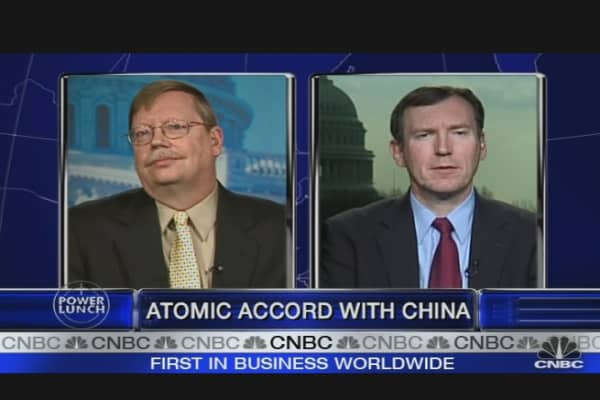 Selling Nuclear Tech to China