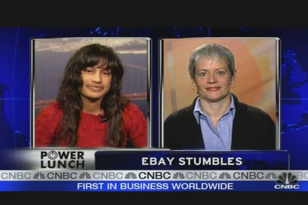 eBay Stumbles