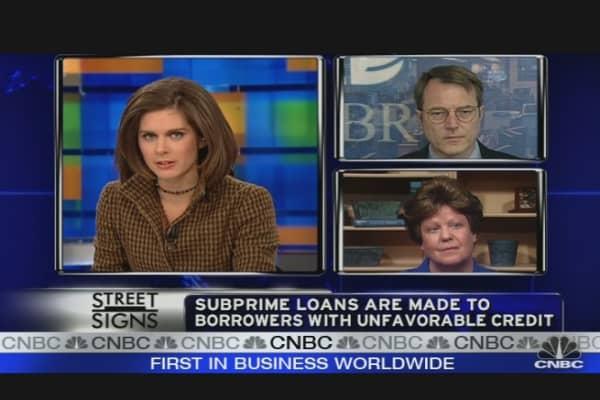 Subprime Foreclosure Threat