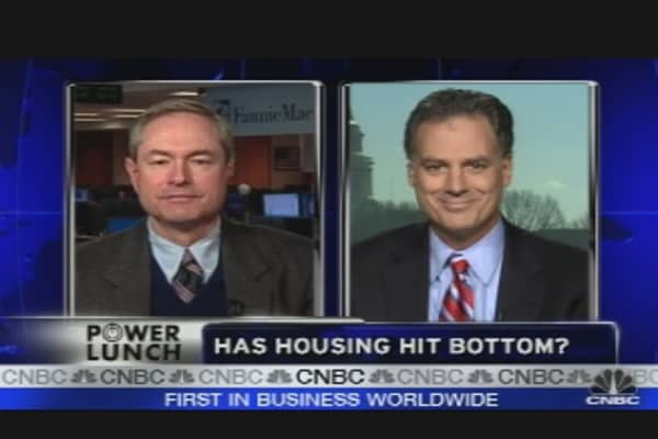 Has Housing Hit Bottom?