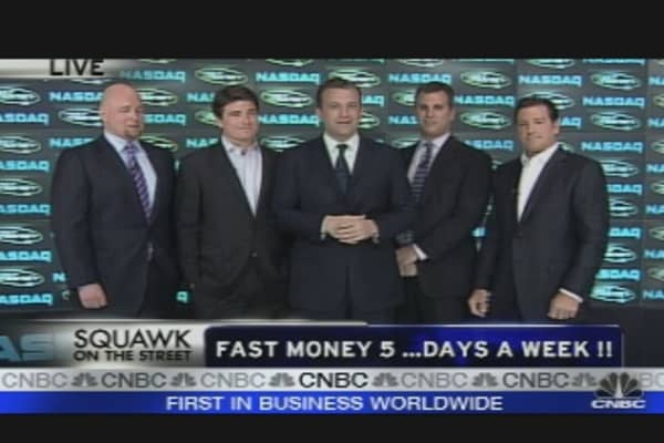 Fast Money at the Nasdaq