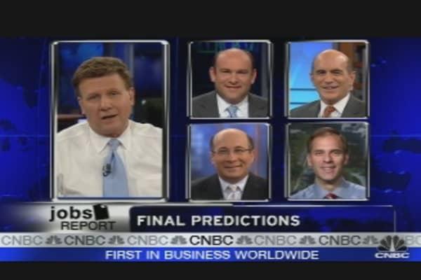 Jobs Report Predictions