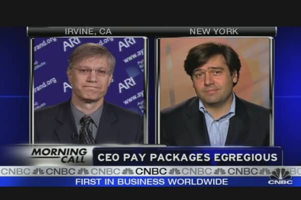 CEO Pay Packages