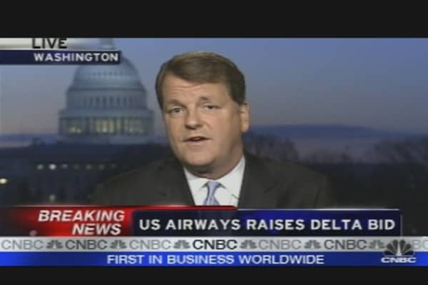 U.S. Airways Bid for Delta