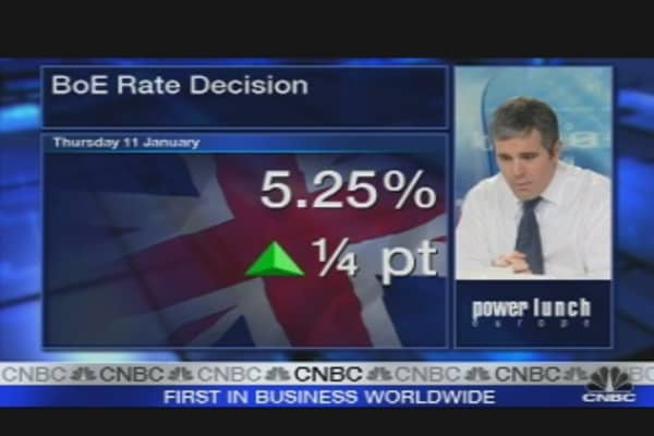 BOE Raises Rates to 5.25%