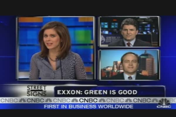 The Greening of Exxon