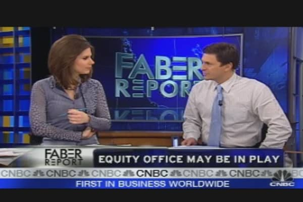 Equity Office May be in Play