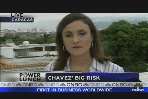 Chavez's Big Gamble