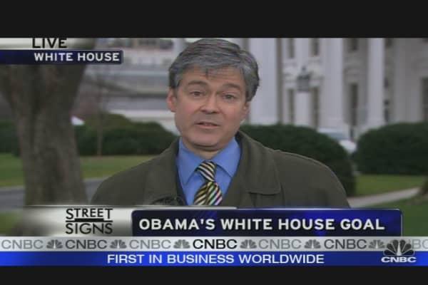 Obama's White House Goal