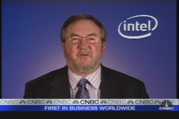 Intel CFO Interview