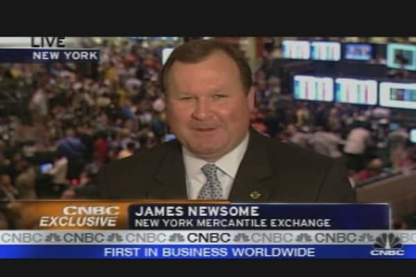 CNBC Exclusive: NYMEX CEO