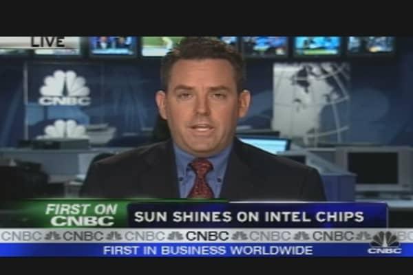 Sun Shines on Intel