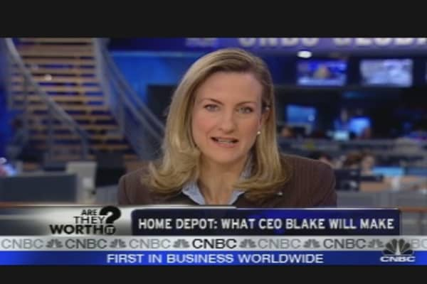 Home Depot: What Blake Will Get