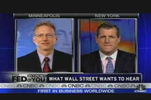 The Fed & Wall Street