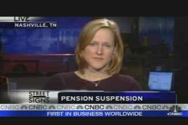 Pensions Pumped
