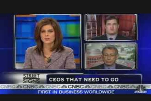 CEOs Who Must Go