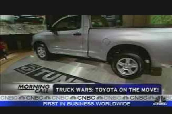 Truck Wars: Toyota on the Move