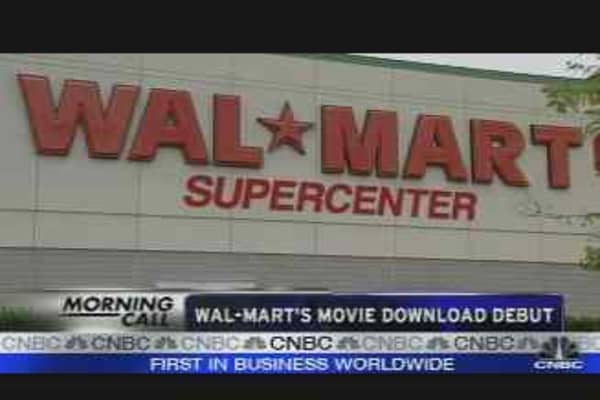 Wal-Mart Goes Hollywood