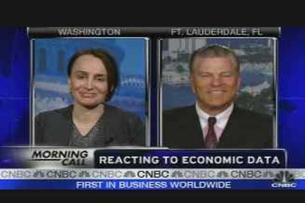 Reacting to Economic Data