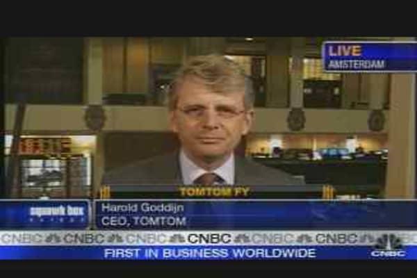 TomTom Fourth-Quarter Profit Jumps