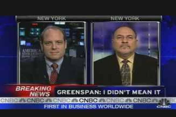 Greenspan: Bernanke's Headache?