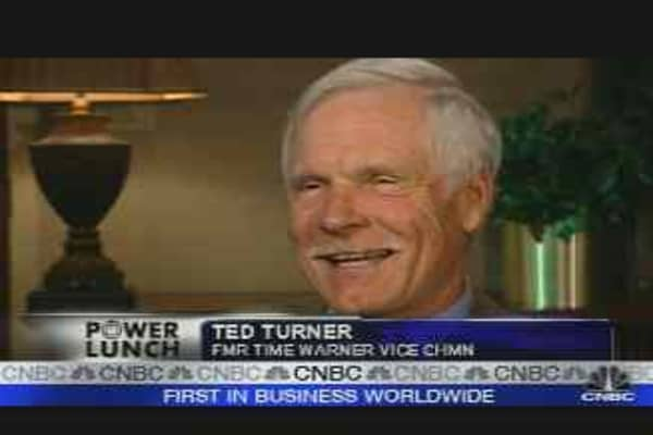 What's Firing Up Ted Turner?