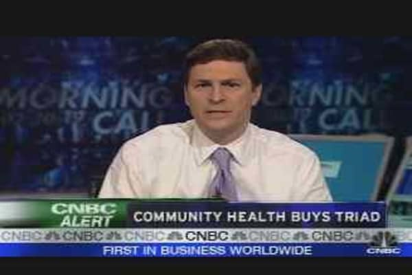 Community Health to Buy Triad