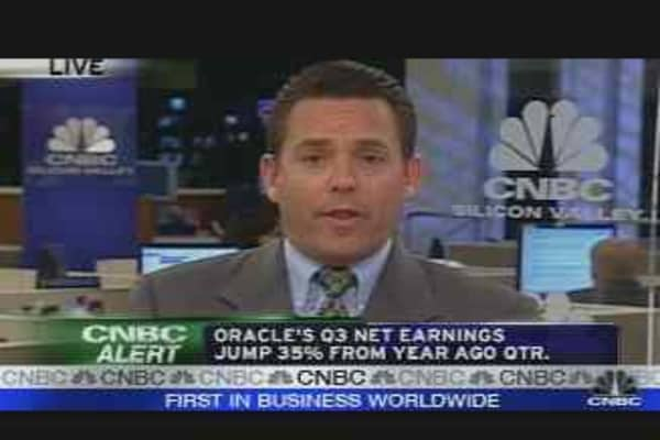 Oracle Earnings Update