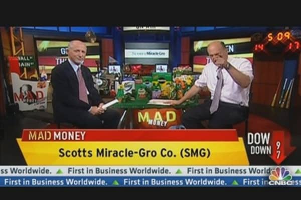 Scotts Miracle-Gro Shares 'Wither' on Weak Forecast