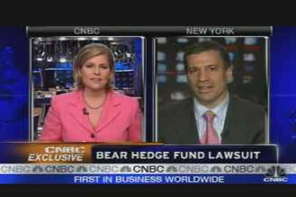 Bear Hedge Fund Lawsuit