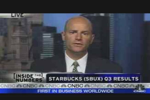 Starbucks Earnings