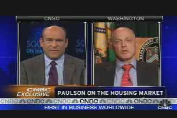 CNBC Exclusive: Henry Paulson pt. 2