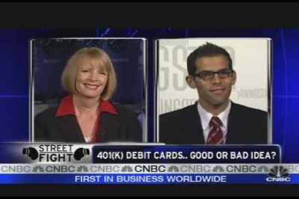 401k Debit Cards: Good or Bad Idea?