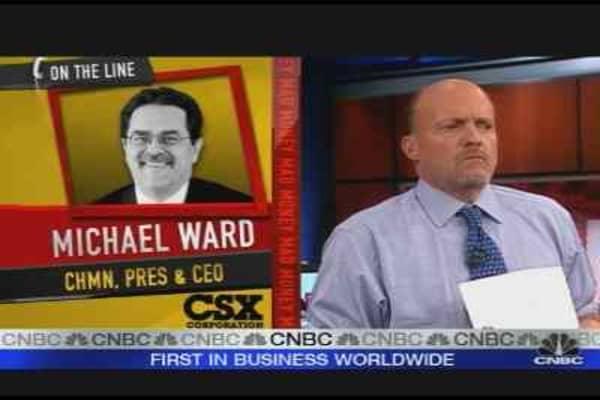 CSX CEO on Energy Biz