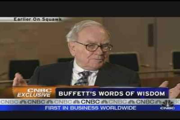 Buffett's Words of Wisdom