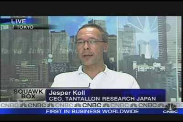 Japan Inflation Hits Decade High