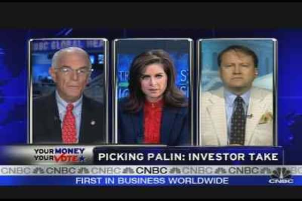 Picking Palin: Investor Take