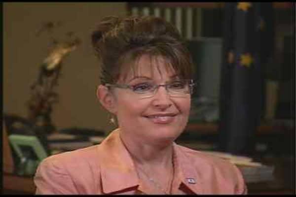 Gov. Sarah Palin, (R) Alaska