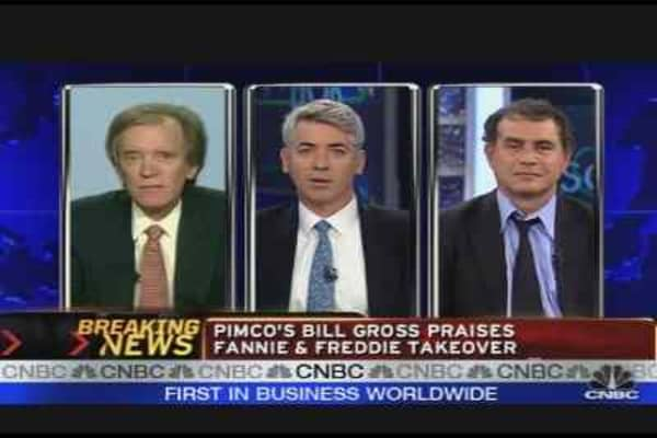Pimco's Gross Praises GSE Takeover