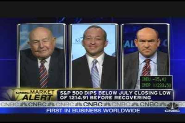 Markets, Lehman & WaMu