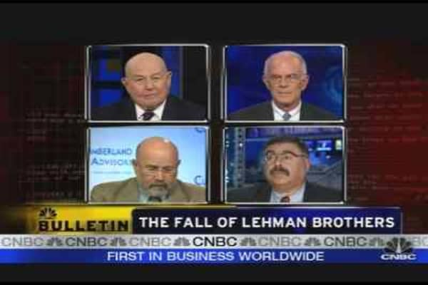 The Fall of Lehman