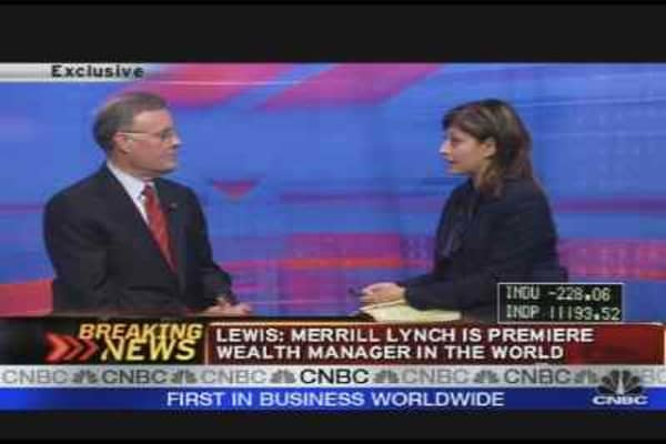 BofA's Ken Lewis on Merrill Lynch