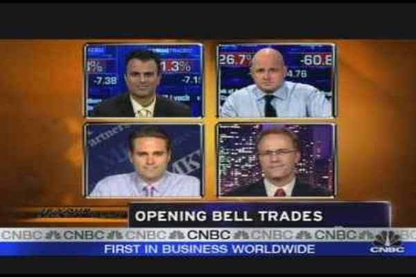Opening Bell Trades