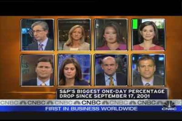 Wall St. Crisis: AIG, Merrill & Lehman