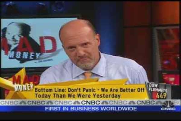 Cramer: Don't Panic