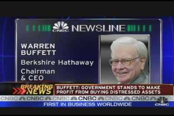 Warren Buffett: None Better Than Goldman